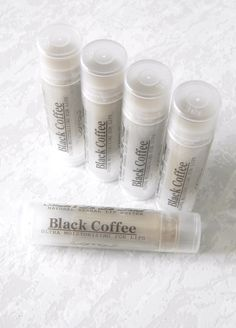 Black Coffee Lip Butter  herbal lip butter pure by AnitasLaLaLand, $3.50