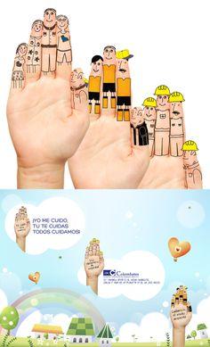 Campaña cuidado de manos COLOMBATES