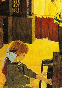 Publication unknown  Illustrated by Bernie Fuchs  1960's
