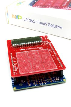 LPC82x Touch Solution: NXP's LPC82x Touch Solution is a royalty free software based capacitive touch sensing solution developed specifically for NXP's LPC82x family of microcontrollers.