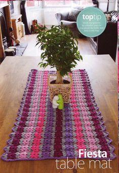 Ravelry: Fiesta Table Mat by Linda Permann