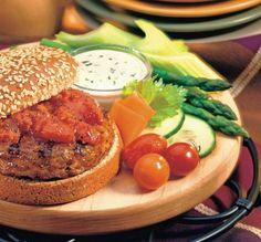 Rýchle hamburgery | Recepty.sk