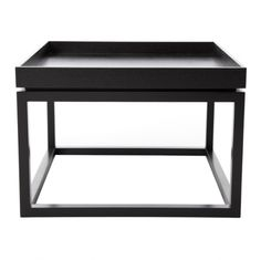 TIME Sofa Table Black Stolik