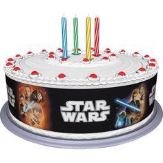 Opaska dekoracyjna na tort z motywem Star Wars