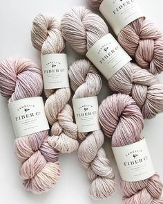Hand dyed yarn from the Camellia Fiber Company in the colorway Rosemary Flower. Perfect for knitting and other DIY projects. Crochet Crafts, Crochet Yarn, Knitting Yarn, Rosemary Flower, Fabric Dyeing Techniques, Yarn Color Combinations, Yarn Inspiration, Yarn Bowl, How To Dye Fabric