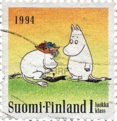 A Finnish stamp