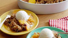 Peach Almond Crumble: Michael Symon's Favorite Dessert | Symon's Suppers | ulive