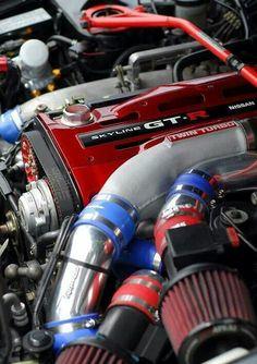 Nissan skyline GT-R twin turbo