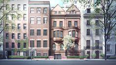 Herzog & de Meuron's Proposal to Transform Historic New York Townhouses Receives Approval