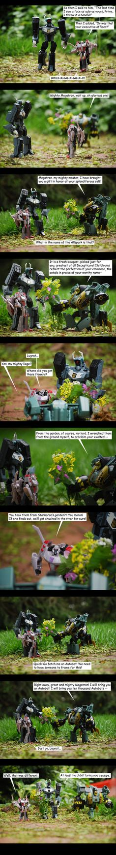 For the Glory of Megatron - 1 by The-Starhorse.deviantart.com on @DeviantArt