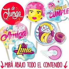 Soy Luna Photo Booth Props Imprimible
