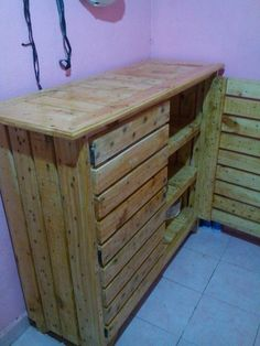 kitchen cabinets made from pallets diy cabinet refacing with pallet board things to 20757