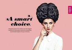 "Viru Keskus: ""A smart choice"" Наружная реклама, aгентство: Age McCann Estonia"
