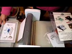 Using Sizzix Magnetic Platform with Fiskars Fuse - YouTube