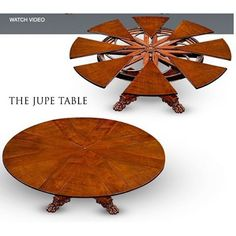 Lovely Make Sure To Check Out Our YouTube Channel To Watch All Of Our Mechanical  Wonders In Action!! This Expanding Round Table Is By Robert Jupe.