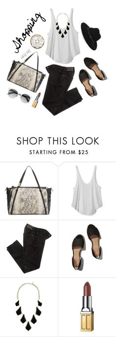 """""""Let's Go Shopping!"""" by boho-at-heart ❤ liked on Polyvore featuring Foley + Corinna, RVCA, 7 For All Mankind, Abercrombie & Fitch, Kendra Scott, Elizabeth Arden and By Malene Birger"""