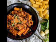 Wovenblends Valentines Day Meal Inspiration: How To Make Minced Beef Rigatoni - YouTube