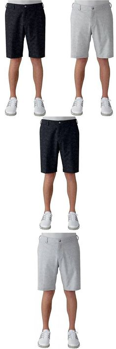 Shorts 181139: Adidas Ultimate Heather Short–2 Colors Available–Multiple Sizes–Mens Golf Shorts -> BUY IT NOW ONLY: $34.99 on eBay!