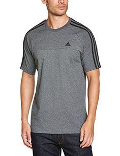adidas - Camiseta de running para hombre en color gris #camiseta #starwars #marvel #gift