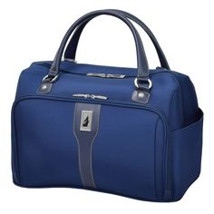 4fcdd3656 London Fog Knightsbridge 17-Inch Cabin Bag, Blue Cabin Bag, Garment Bags,