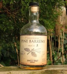 A take on the classic Manhattan using the hot and sweet Pine Barrens Single Malt Whisky