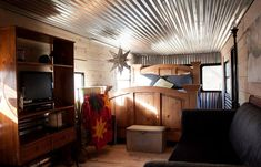 A vintage Spartan trailer restored in California. Shared and owned by Jennie Porter.