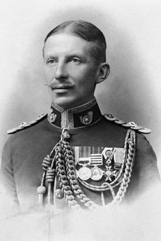 Portrait of Lt Charles Allix Lavington Yate, awarded the Victoria Cross, France, 26 August [The Victoria Cross is the British highest decoration equivalent to the Congressional Medal of Honor]. World War One, First World, Commonwealth, British Medals, George Cross, Historia Universal, Laurel And Hardy, Age Of Empires, People Of Interest
