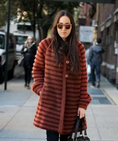 Street Style: The Perfect Topper For (Gross) Days Like These