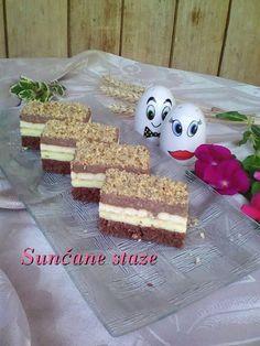 Baking Recipes, Cookie Recipes, Dessert Recipes, Posne Torte, Torte Recepti, Torte Cake, Vegan Desserts, No Bake Cake, Cake Baking