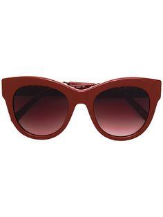 c08433c546b Stella Mccartney Eyewear Óculos De Sol Com Armação Arredondada - Farfetch