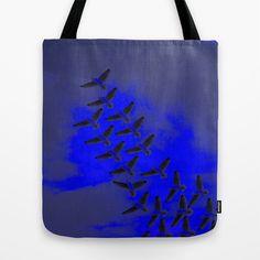 Flying V Tote Bag by Megan Spencer - $22.00
