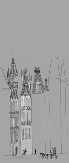Buildings Sketchbook , with thanks to sharackula, Resources for Art Students CAPI ::: Create Art Portfolio Ideas at milliande.com , Art School Portfolio Work