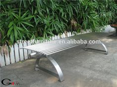 Modern backless metal park bench outdoor stainless steel benches, View outdoor stainless steel benches, Gavin Product Details from Guangzhou Gavin Urban Elements Co., Ltd. on Alibaba.com
