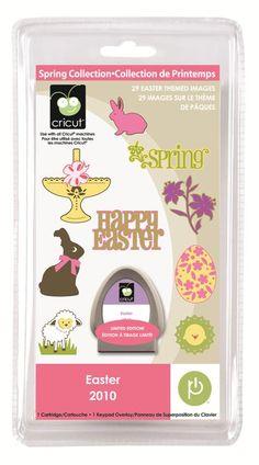 Cricut® Easter Seasonal Cartridge: wish list. Keep track of Peyton's Easters!