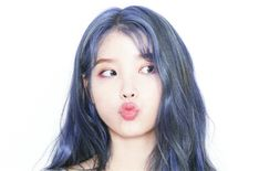 Online Communities Can't Get Enough of IU's Mystical New Hair Color Hair Color Blue, New Hair Colors, Kpop Hair Color, Korean Celebrities, Celebs, Iu Twitter, Korean Actresses, Look Cool, Girl Crushes
