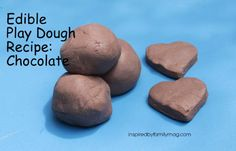 A Mom Not a Professional Nor a Perfectionist: Edible Chocolate Play Dough Recipe