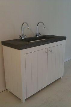 Landelijk badkamermeubel by WOOD4 Bathroom