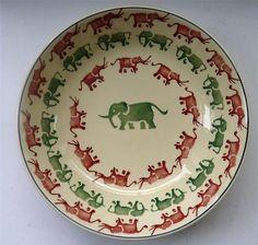 "Emma Bridgewater Elephant 11"" serving dish"