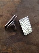 Image of Wood Grain Cufflinks