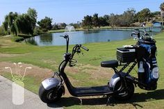 Phat Golf Scooters with golf bag Scooter Images, Photos On Facebook, Scooters, Golf Bags, Gifts For Dad, Golf Courses, Photo And Video, Gallery, Instagram