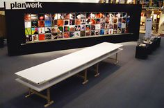 PLANWERK 2007 » Claudia Kiessling Ping Pong Table, Planer, Dining Bench, University, Projects, Furniture, Home Decor, Log Projects, Dining Room Bench