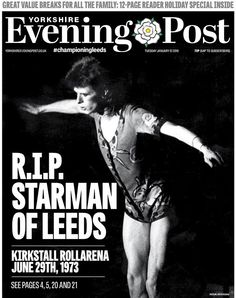 How the newspapers reacted to David Bowie's death – in pictures