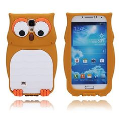 Owl (Brun) Mobilskal Samsung Galaxy S4