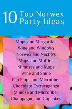 Ready to ROCK your Norwex party?  Here are a couple fun ideas to make it an awesome event for you and your guests!  #Norwex #PartyIdeas #Party