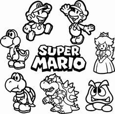 Super Mario Bros Disegni Da Colorare Gratis Wwwbambinievacanzecom