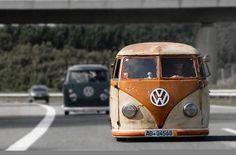 Volkswagen split bus
