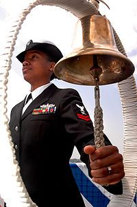 Ship's bell - Wikipedia, the free encyclopedia