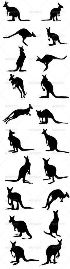 Ideas for a possible future tattoo. I would just get an outline, though, not sol… Ideas for a possible future tattoo. I would just get an outline, though, not solid. Trendy Tattoos, Small Tattoos, Tattoos For Guys, Kangaroo Drawing, Kangaroo Illustration, Australian Tattoo, Tatuajes Tattoos, House Sketch, Australian Animals