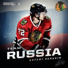 Artemi Panarin will play on Team Russia at the 2016 World Cup of Hockey! 1ffa6aea8