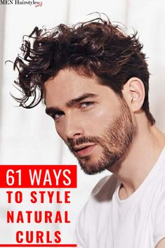 270 Hairstyles For Men With Curly Hair Ideas Curly Hair Men Curly Hair Styles Curl Natural Curly Hair